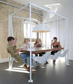 maison chaise balancoir